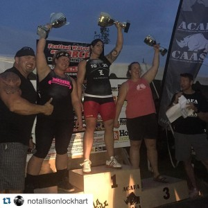 Allison Lockhart Canadas Strongest Woman How can this be morehellip