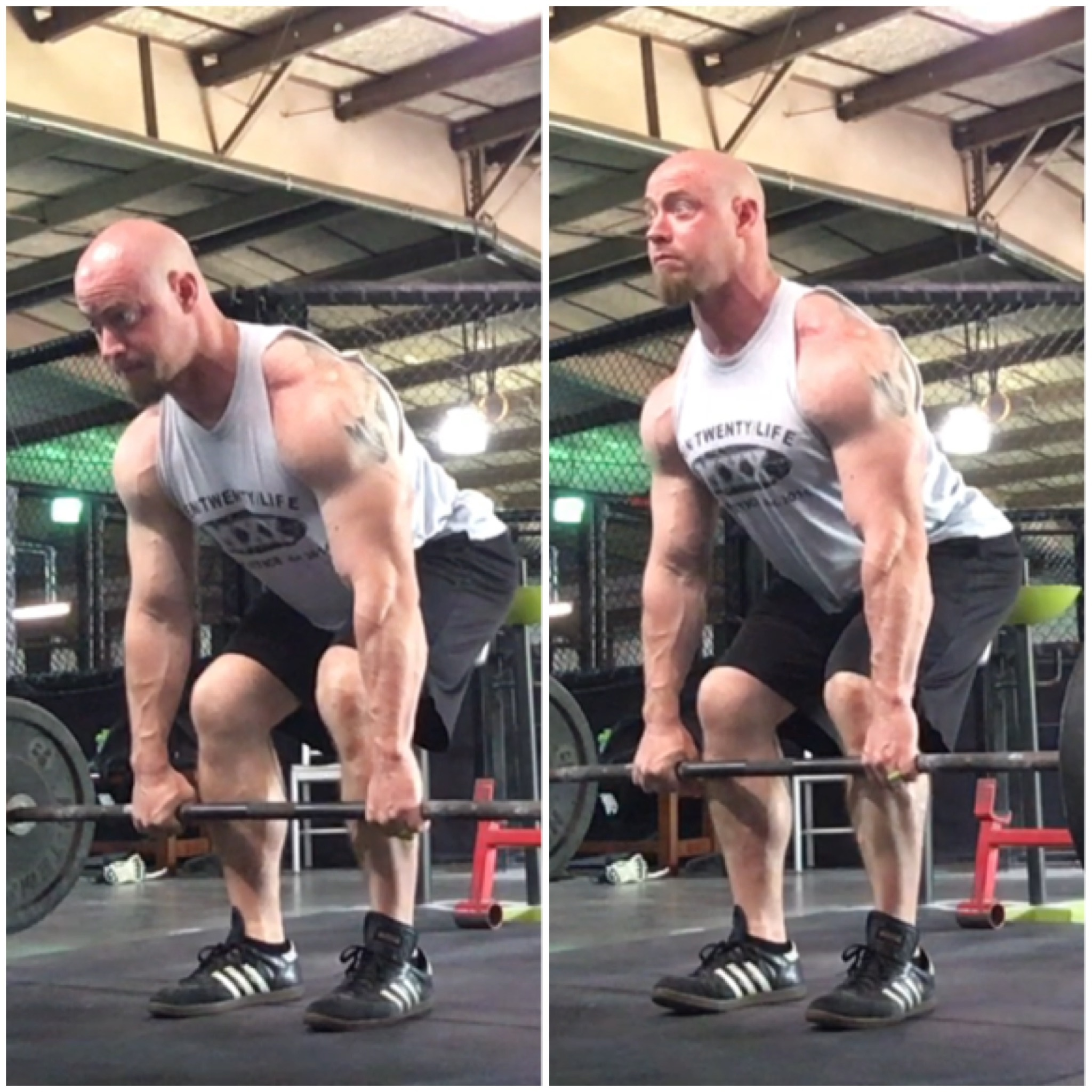 Power rack strength paused deadlifts youll notice that as i move from bottom to mid shin nothing really changes thats a push through the legs to initiate the movement falaconquin