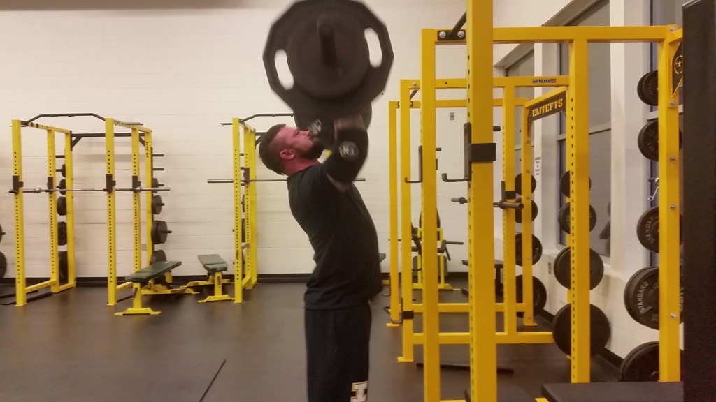 Power Rack Strength | 10/20/Life for Collegiate Basketball